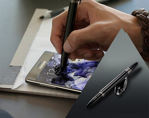 Samsung Galaxy Note 4 от Montblanc читать на Cornery