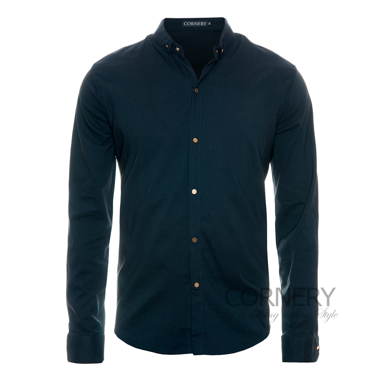 Рубашки Cornery Shirt Dark Blue